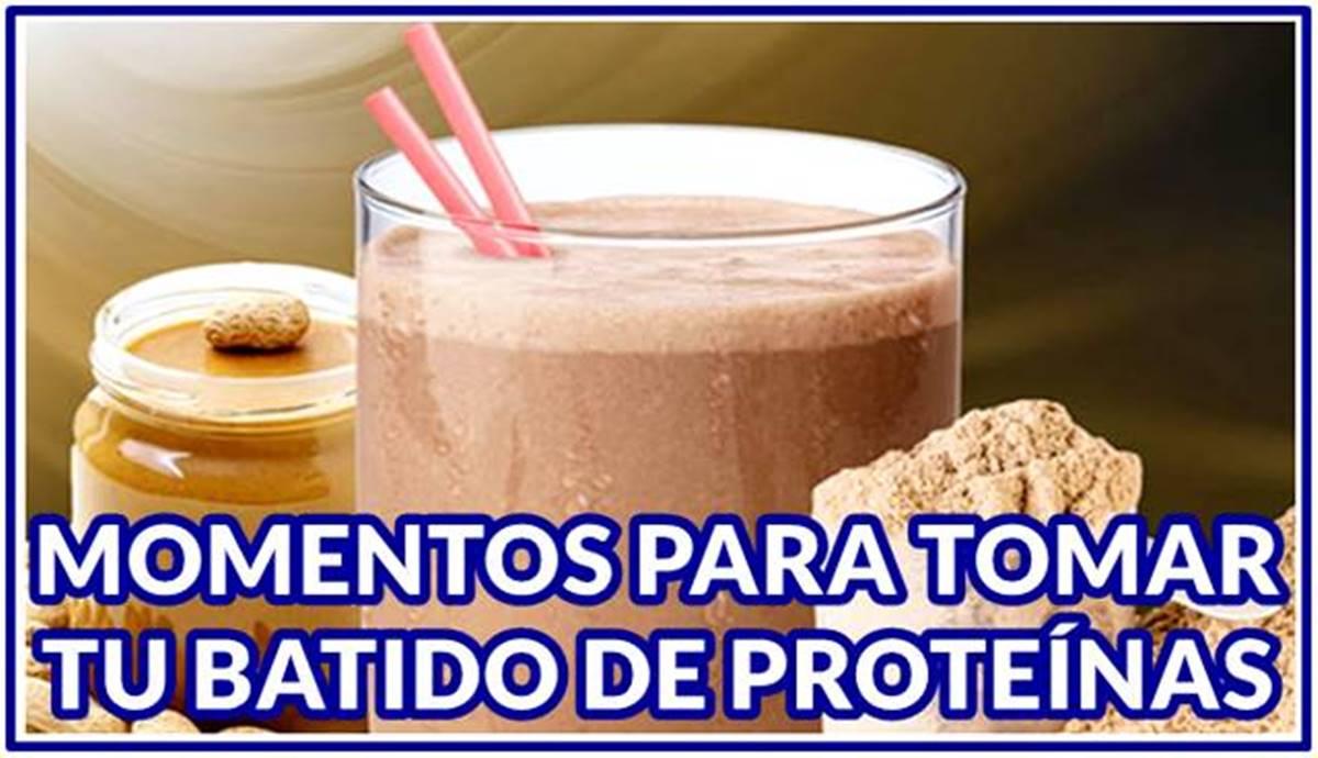 Momentos idóneos en el día para tomar tu batido de proteínas