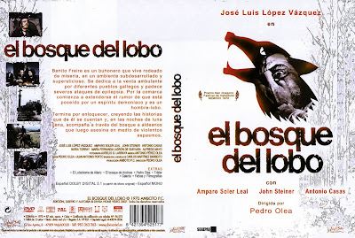 Carátula, cover, dvd: El bosque del lobo | 1970