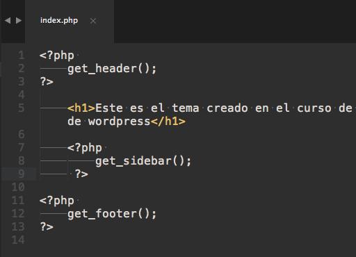 Crear tema para Wordpress - Header, Footer y Sidebar ~ Darwin Salinas