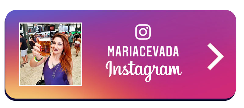 As melhores dicas cervejeiras e roteiros de viagem estão no Instagram da Maria Cevada