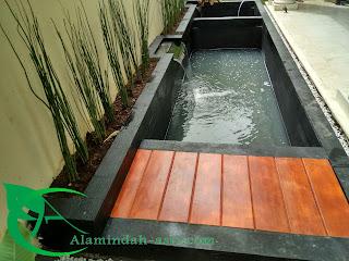 Hobi pelihara ikan koi adalah alternatif untuk refleksi penat kantor maupun kebisingan di suasana luar.