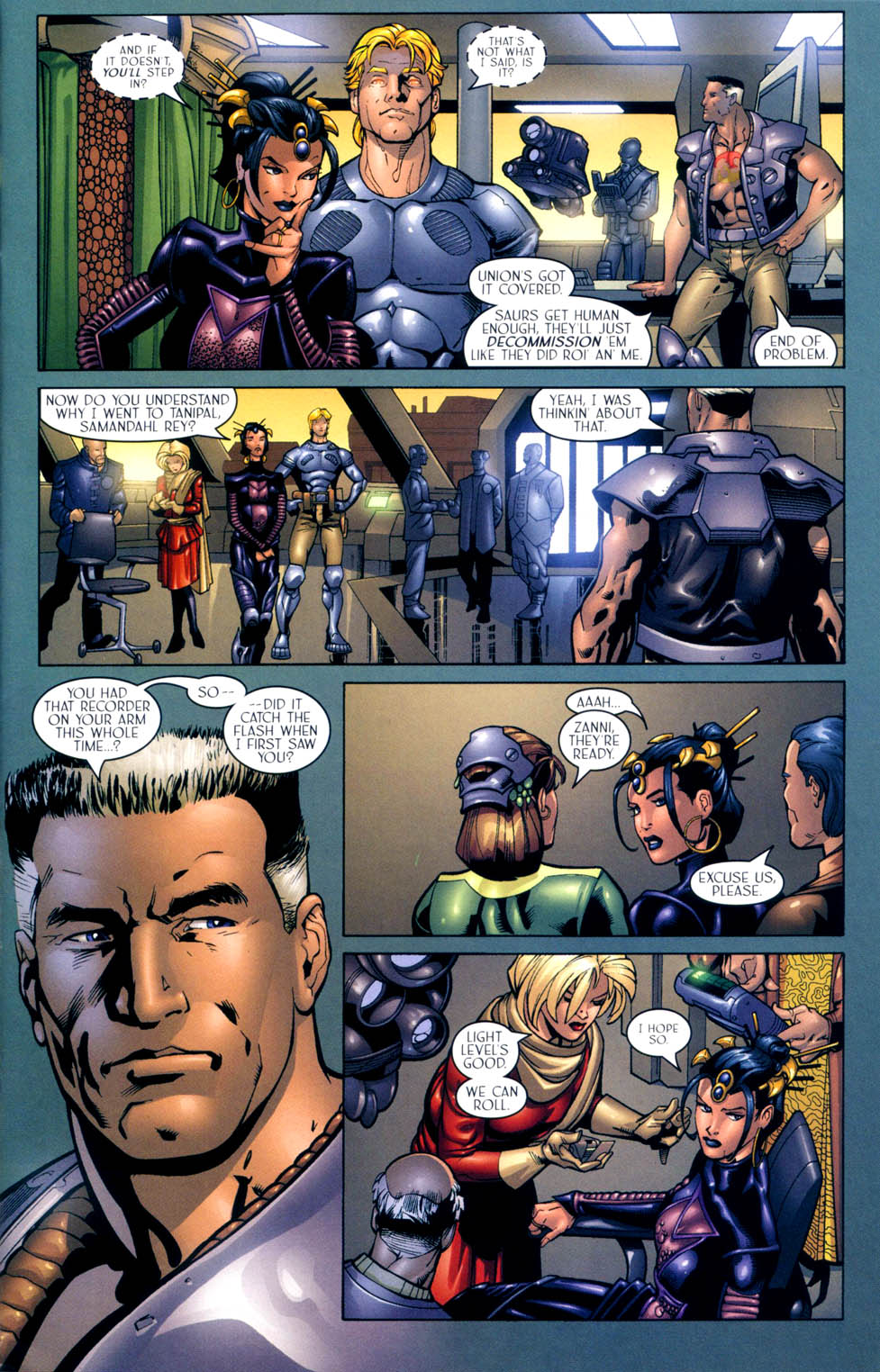 Read online Sigil (2000) comic -  Issue #10 - 8