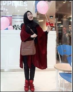 model hijab remaja elegan