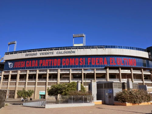 Vicente Calderon, Madrid, Spain