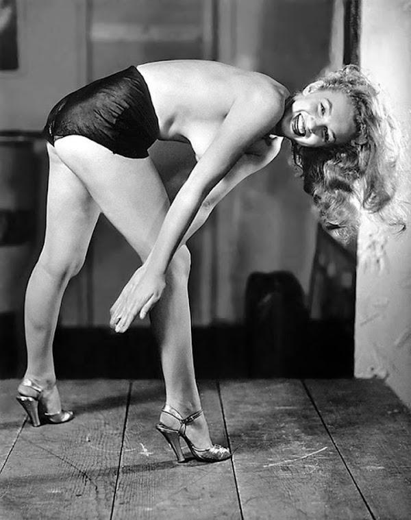 Rare Marilyn Monroe Shot