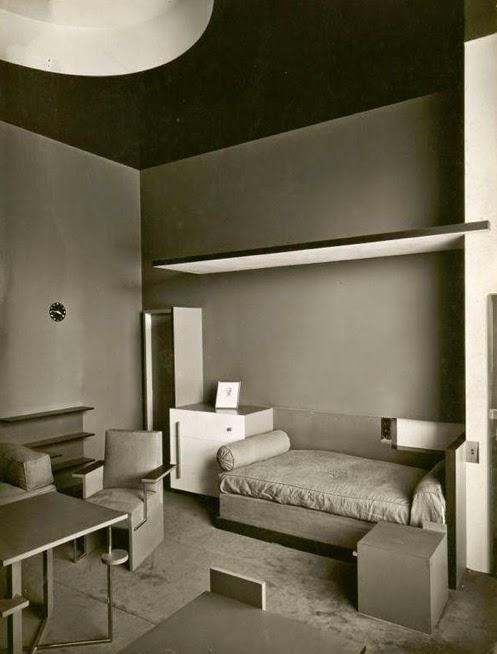 la chambre de jeune homme