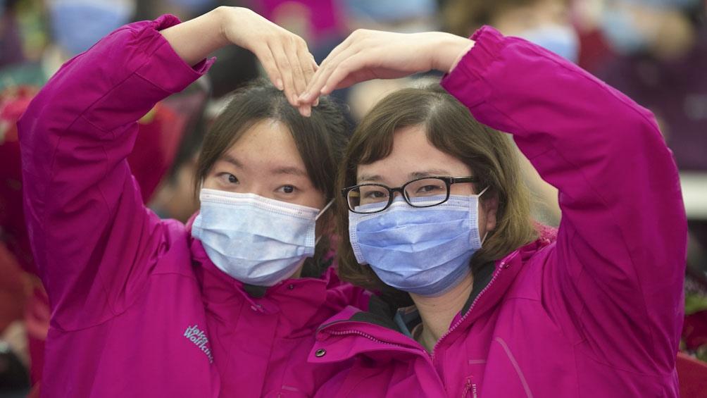 China: los casos de coronavirus caen a cero por primera vez