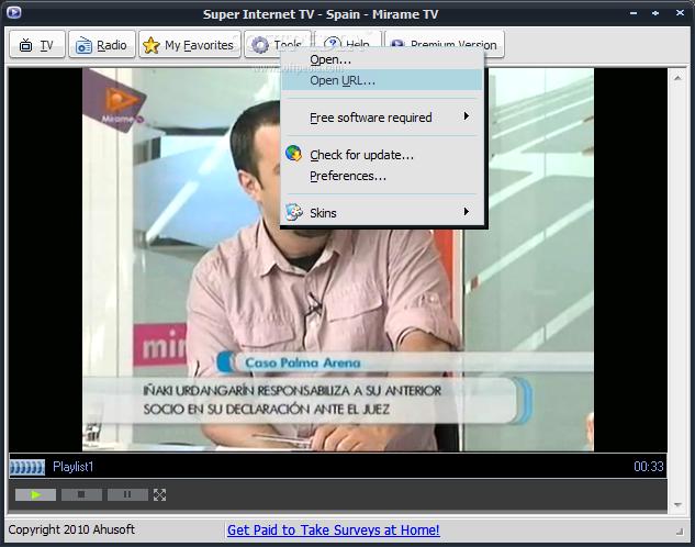 برنامج التلفزيون الافضل Super Internet TV 8.1.0.0