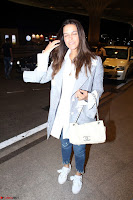 Neha Dhupia in Shirt Denim Spotted at Airport IMG 3525.JPG