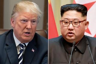 الرئيس دونالد ترامب يعلن مكان وتوقيت القمة التاريخية بين الولايات المتحدة وكوريا الشمالية في سنغافورة في 12 يونيو 2018