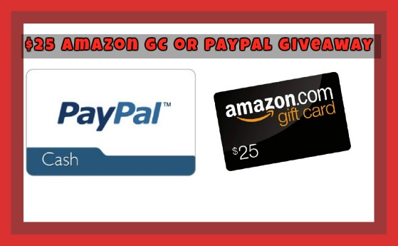 Back To School - $25 Amazon/Paypal gift card giveaway
