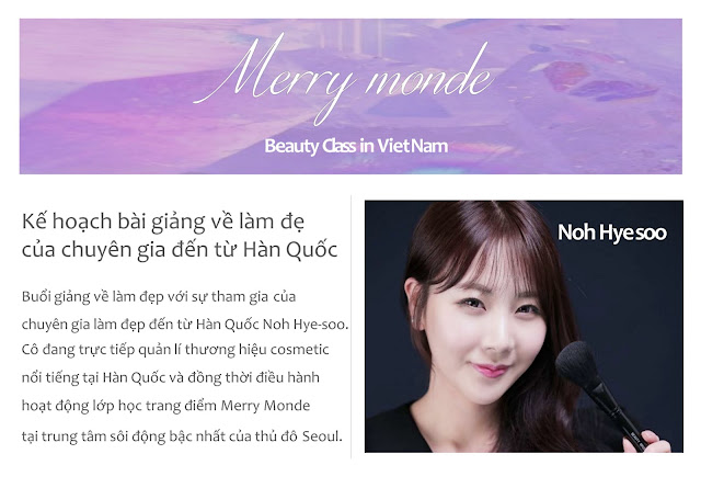 LỚP HỌC MAKE-UP MIỄN PHÍ K-BEAUTY CLASS IN VIETNAM