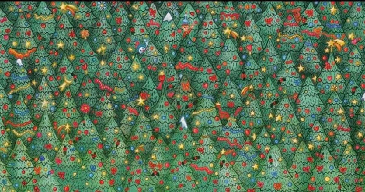 Kalėdinė užduotis: ar pavyks surasti besislepiantį paukštį greičiau nei per 2 minutes ir 26 sekundes?