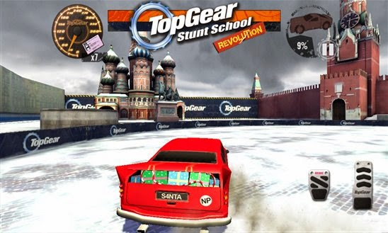 BBC releases Top Gear : Stunt School Revolution for Windows Phone