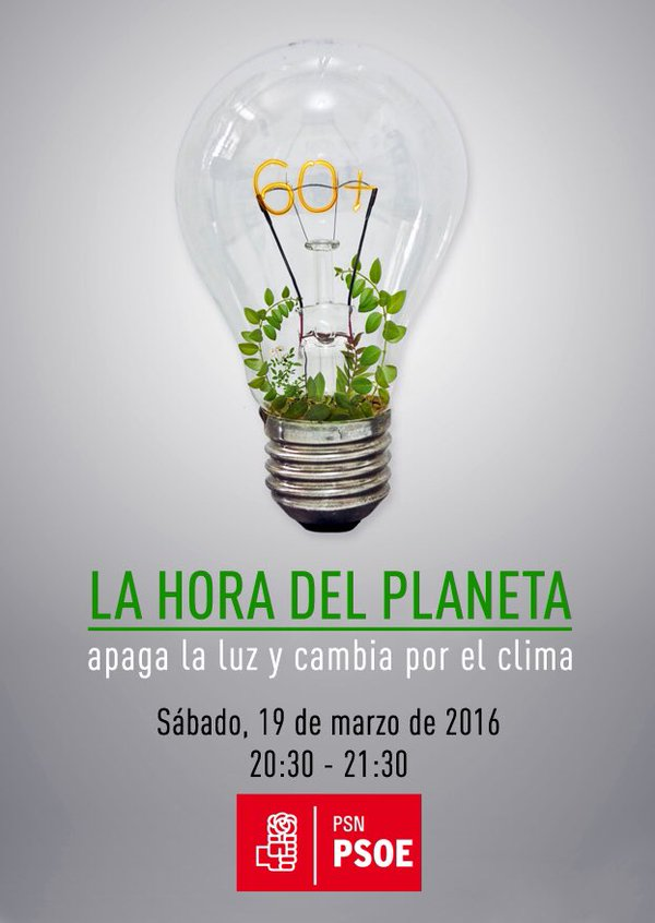 #HoraDelPlaneta