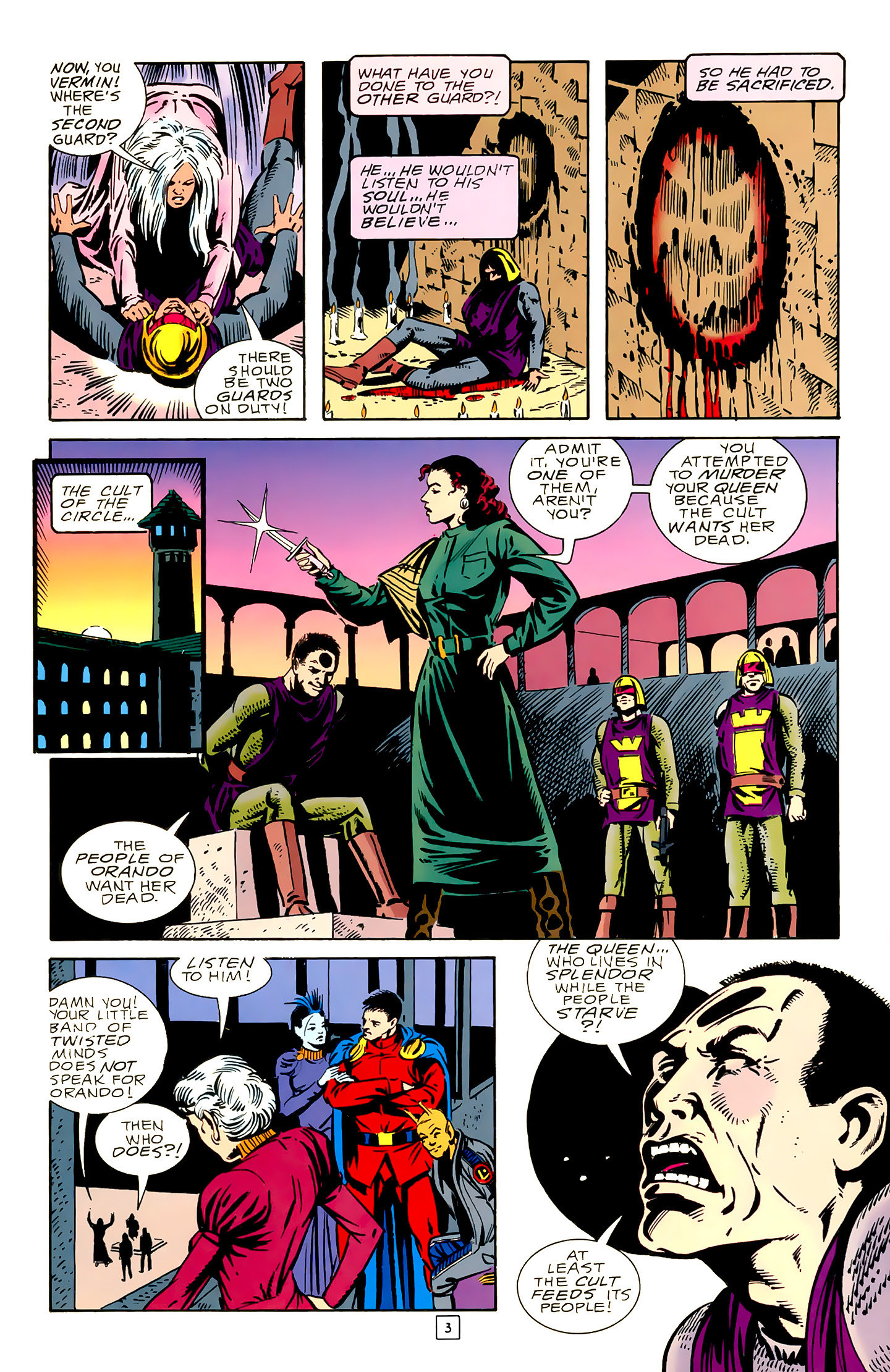 Legion of Super-Heroes (1989) 18 Page 3