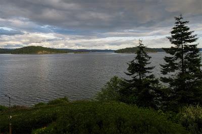 Skagit Bay, South Fidalgo Island,  Washington, USA