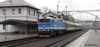 Lokomotywa 754 021-4, České dráhy, Ostrava střed