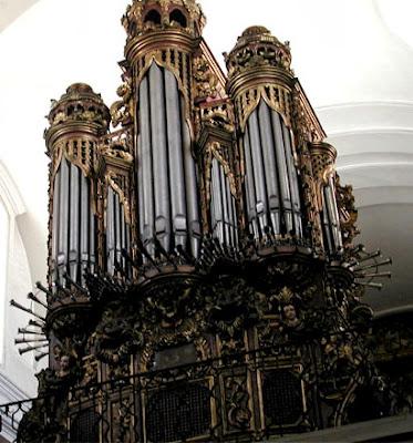 Organo de La Merced en Guatemala