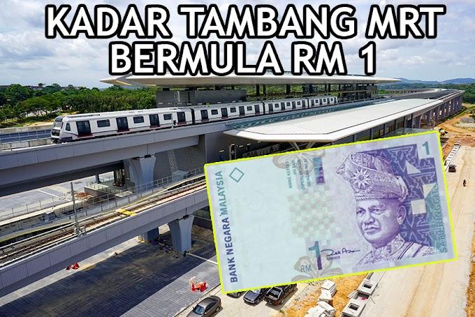 Biar Betul Tambang MRT Bermula RM 1 #RapidKL #MRT