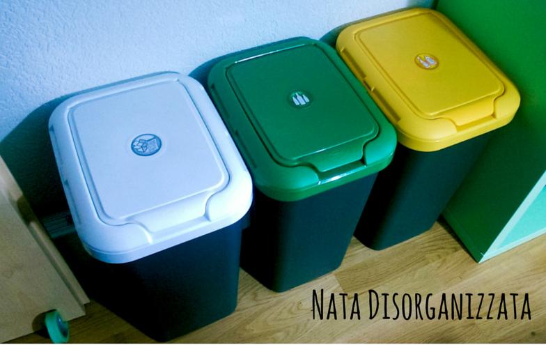 Nata disorganizzata come organizzare la raccolta for Contenitori immondizia ikea
