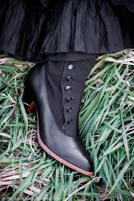Manhattan Button Boots by American Duchess