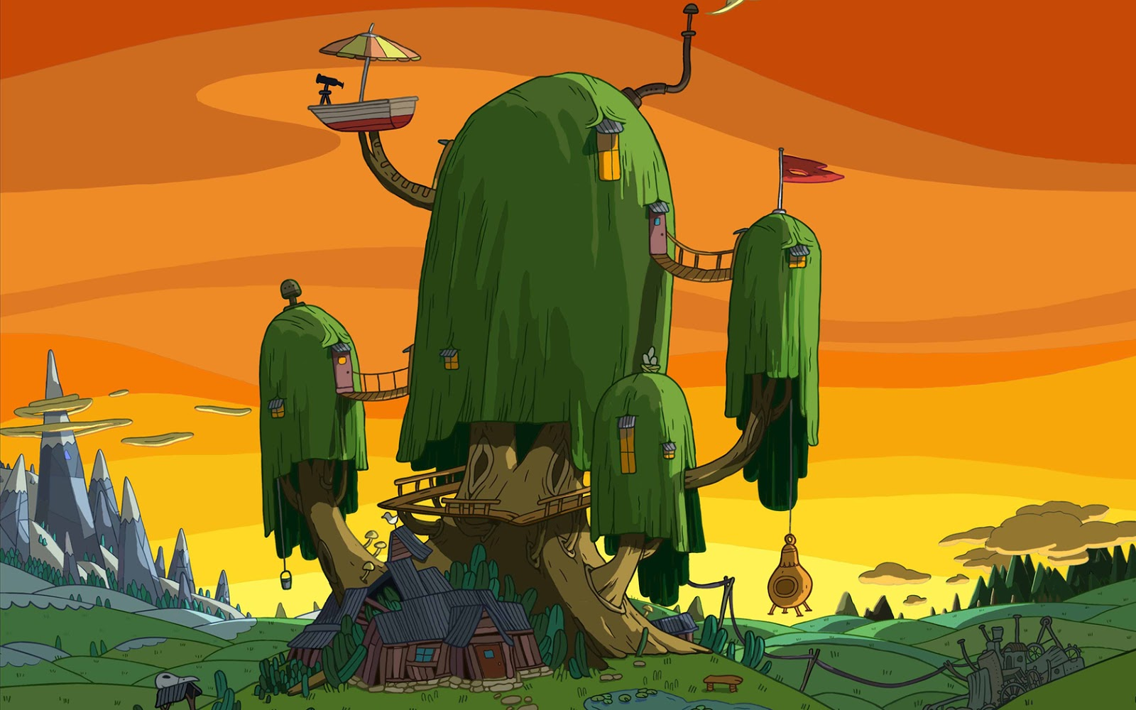 I Love Tree House Adventure Time Tree House Wallpapers
