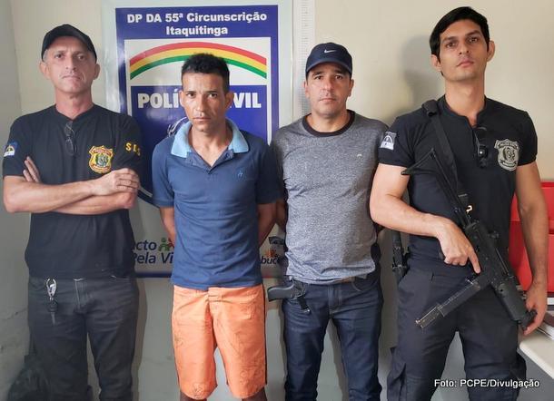 Homem acusado de praticar assaltos em Itaquitinga é preso na PB