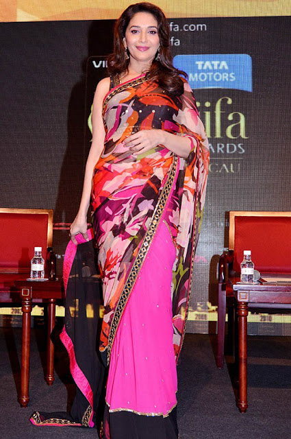 Evergreen Actress Madhuri Dixit at International Indian Film Academy Awards