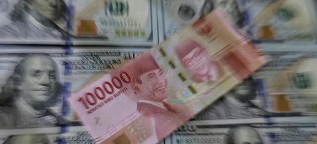 Dolar AS Tembus Rp15.253