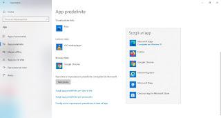 Browser predefinito