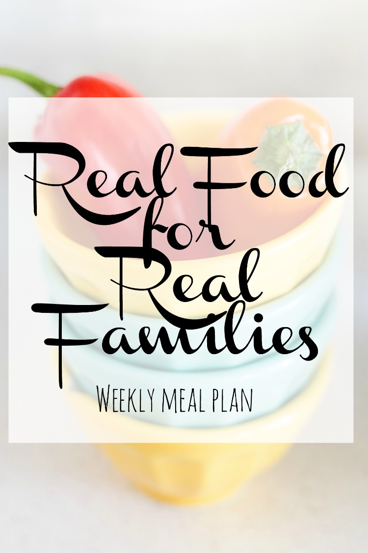 Weekly Family Meal Plan 2018 Week 10