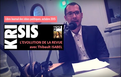 Thibault Isabel nous présente la revue Krisis