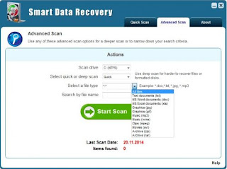 Smart Data Recovery 5.0 DC 20.11.2016 Full Crack