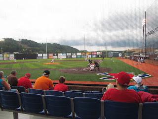 First pitch, Twins vs. Cardinals