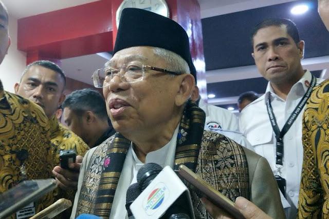 Bisa Perang Saudara, Ma'ruf Amin Diminta Hentikan Narasi Pilpres Radikal vs Moderat