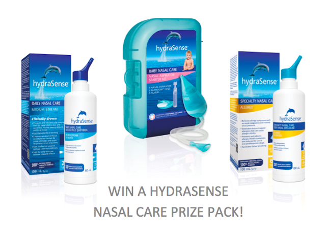 Breathe Easy With HydraSense Prize Pack
