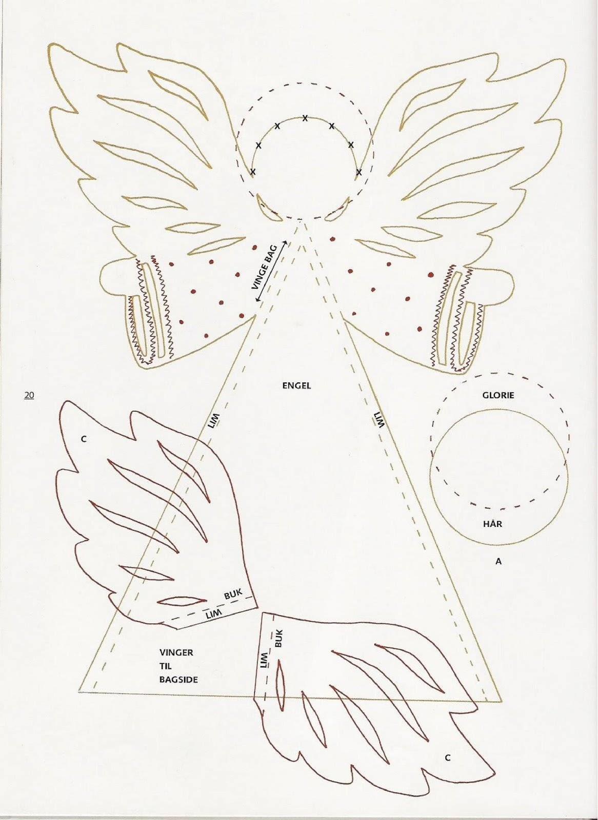 Imagenes De Angelitos Navidenos.Aprende Como Hacer Angelitos Para El Arbol De Navidad