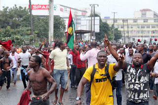 News: Soldiers, IPOB members clash in Abia, two injured