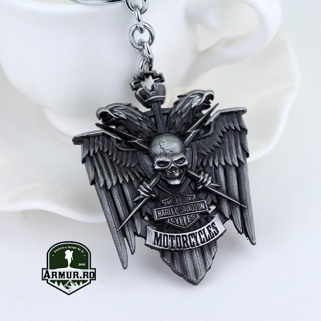 Breloc Harley - Davidson - full metal