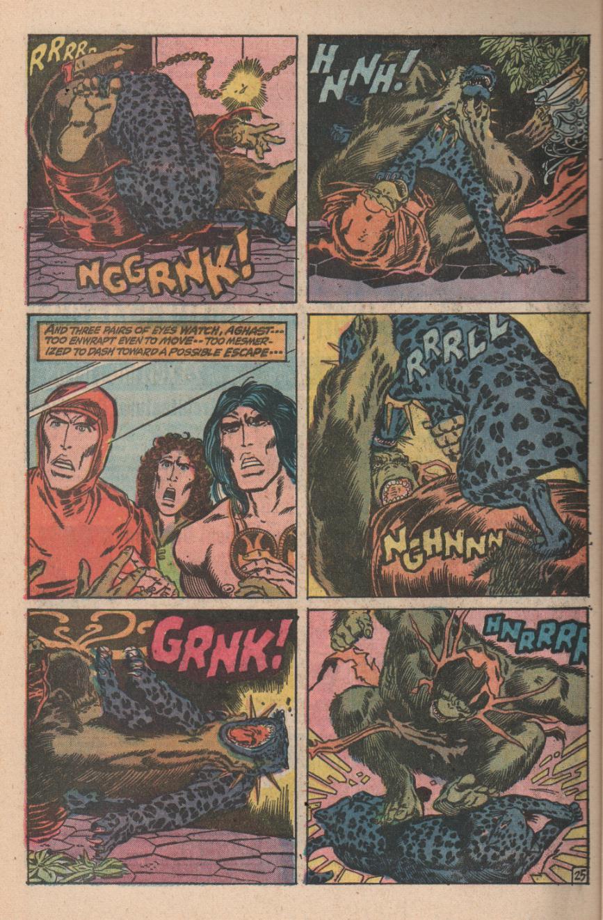 Conan the Barbarian (1970) Issue #11 #23 - English 36