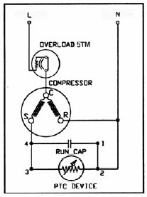 WIRING DIAGRAM KOMPRESOR