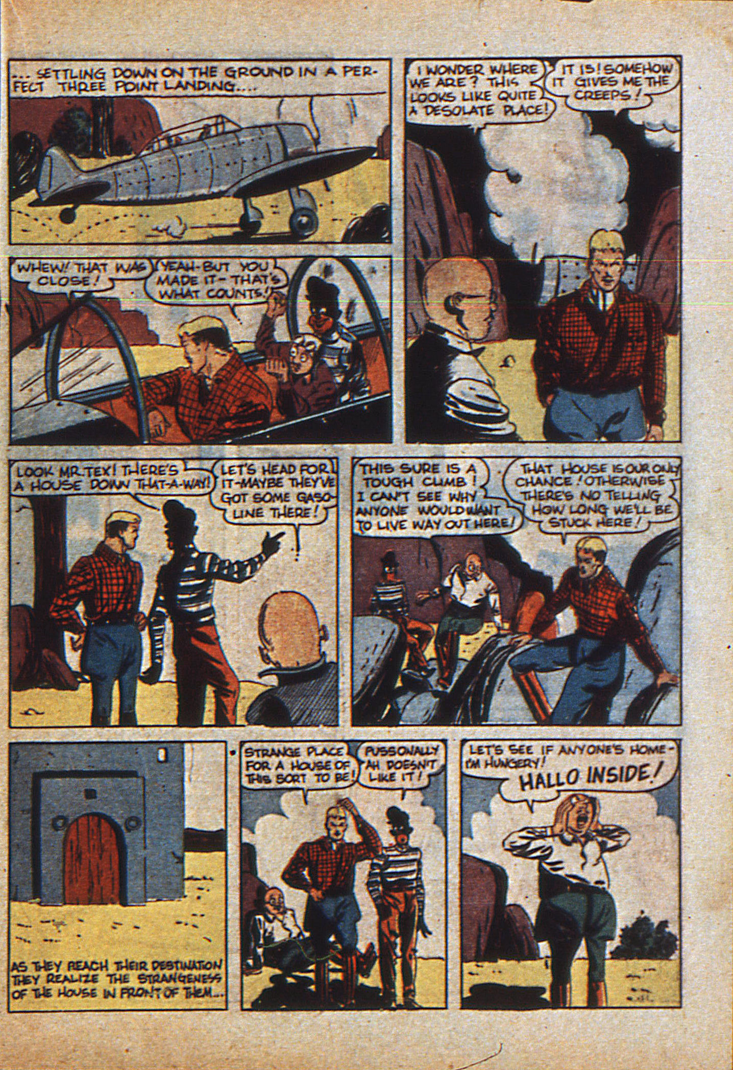 Read online Action Comics (1938) comic -  Issue #23 - 38