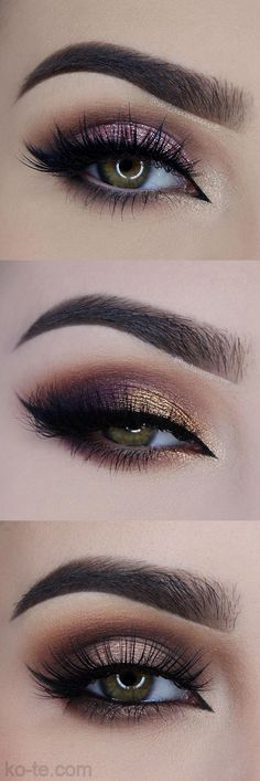GLOSSY EYE MAKEUP. 40+ HOTTEST LOOKS