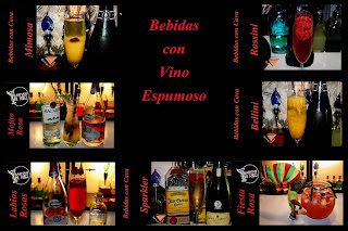 bebidas con vino espumoso