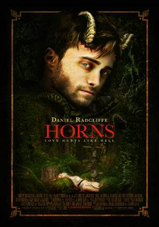 Horns 2013 WEB-DL 350Mb Full English Movie Download 480p Watch Online Free bolly4u
