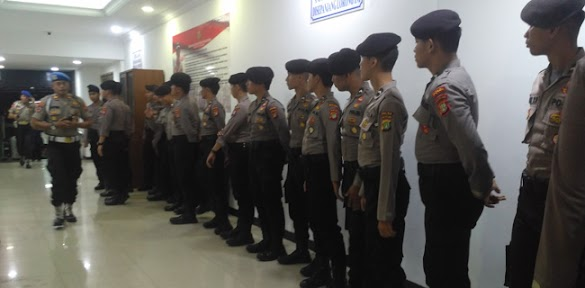 Jelang Prabowo Datang Ke PMJ, Puluhan Anggota Riamas Disiagakan