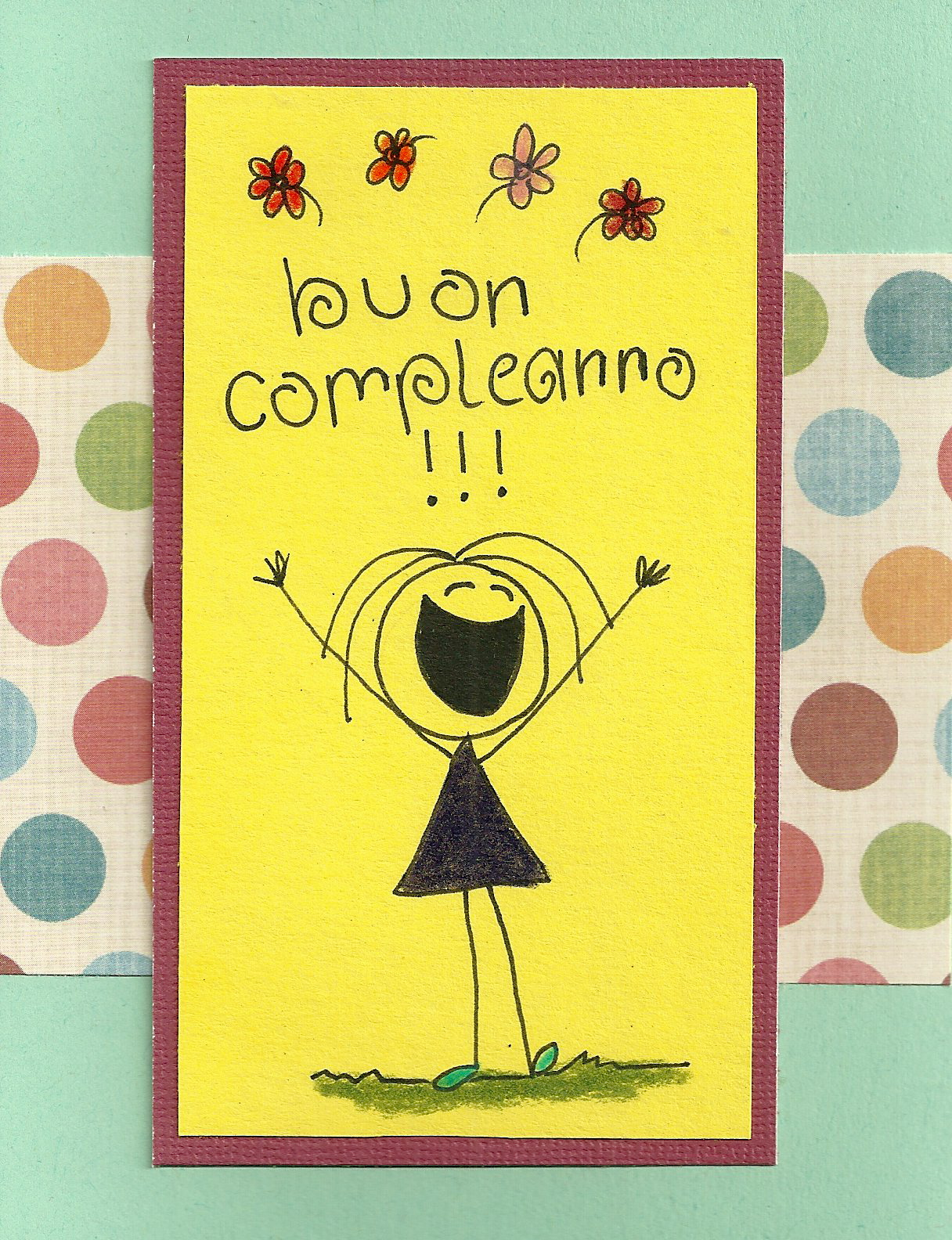 Debbie Dots Greeting Card Blog Italian Birthday