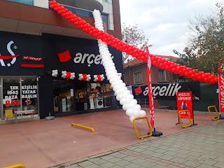 izmir  balon süsleme açılış organizasyonu