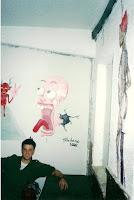 Screaming Man - at base 2000 - Omer Toledano